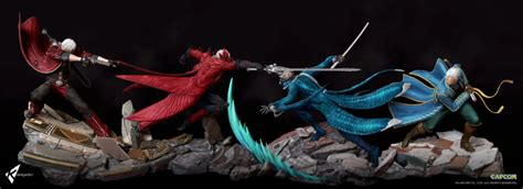 may cry sons of sparda dioramas kinetiquettes