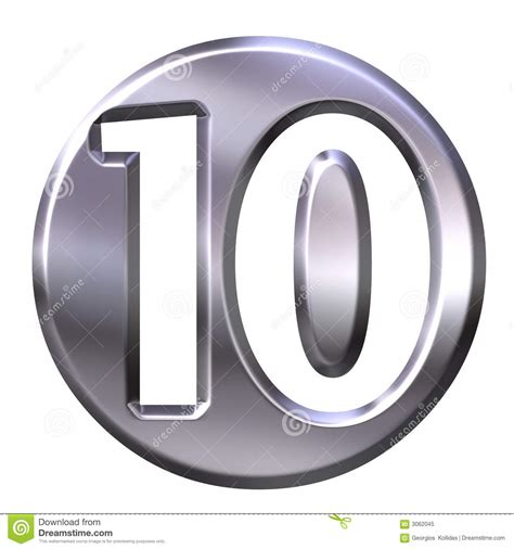 Silver Number 10