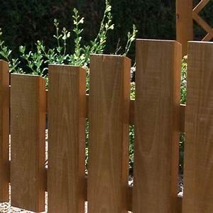 Bordure De Jardin Bois : bordure cintr e de jardin en bois rustique ~ Premium-room.com Idées de Décoration