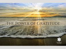 The Power of Gratitude Humanity Healing Network