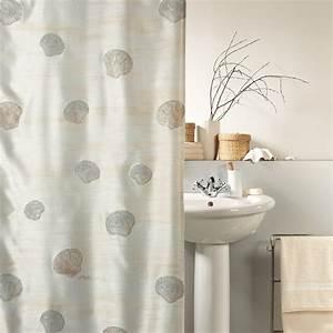 Halterung Für Duschvorhang : fehr badshop duschvorhang spirella atlantis textil ~ Markanthonyermac.com Haus und Dekorationen