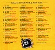 Greatest Ever! Punk & New Wave: The Definitive Collection ...
