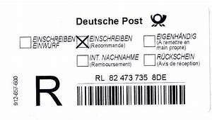 Deutsche Post Porto Berechnen : business wissen management security einschreiben ~ Themetempest.com Abrechnung