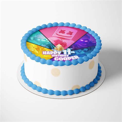 fortnite cake toppers printable pimpyourworld