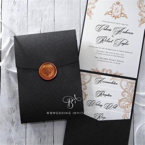 imperial pocket  images pocket wedding invitations