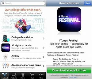 Apple Promotes iTunes Festival with 6 Free Song Downloads ...