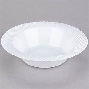 Visions Wave 12 Oz  White Plastic Bowl  Pack