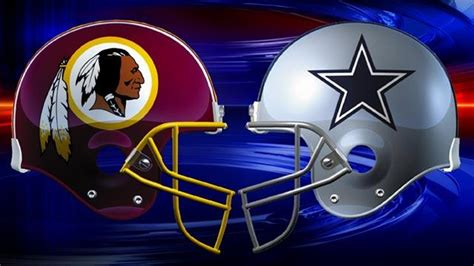 redskins  cowboys   rivalry