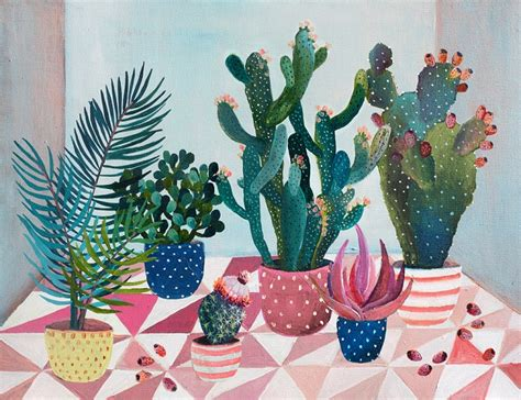 botanical paintings  laura garcia serventi
