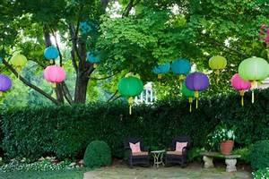 20 frische Ideen für Partydeko - Gartenparty im Frühling