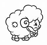 Lamb Coloring Sheep Drawing Cartoon Little Had Mary Printable Pages Lion Line Getdrawings Clipartmag Print Draw Getcolorings sketch template