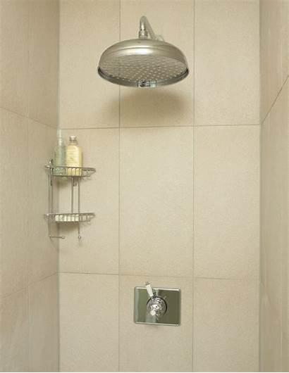 Shower Head Clean Tiled Bathroom Cubicle Bath