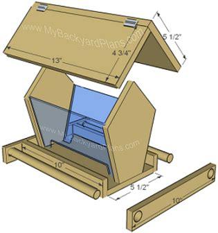bird feeder plans free bird feeder plans woodworker magazine