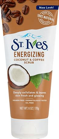 Find out how to use coconut oil for younger, healthier looking skin. Energizing Coconut & Coffee Scrub   St. Ives