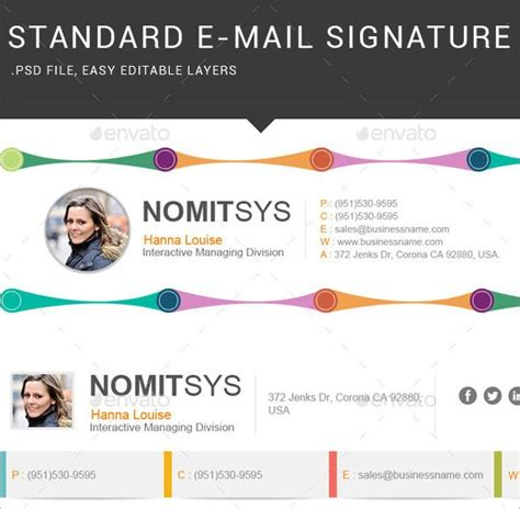 email signature template inspiration 15 best email signature inspiration images on pinterest