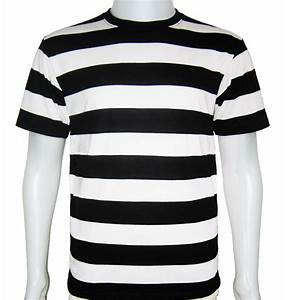 Striped White And Black Shirt | Artee Shirt