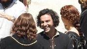New Photos of Aidan Turner on Set of Leonardo - Aidan ...