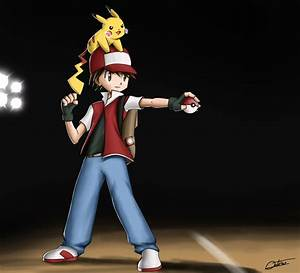 Pokemon Trainer Red By Hitokirisan On Deviantart