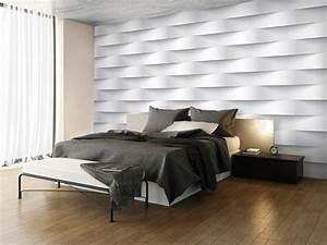 Papier Peint Trompe L Oeil 3d : papier peint white illusion trompe l 39 oeil 3d ~ Melissatoandfro.com Idées de Décoration