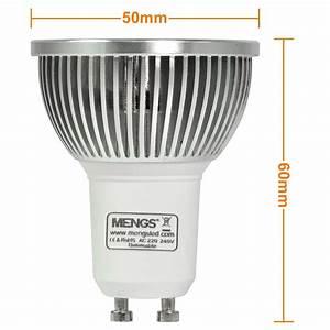 Gu10 Led Lamp : mengsled mengs gu10 5w led dimmbar spotlight cob led lamp in warm white cool white energy ~ Watch28wear.com Haus und Dekorationen