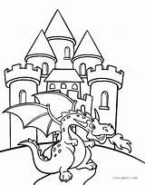 Coloring Castle Pages Medieval Barbie Diamond Getdrawings sketch template