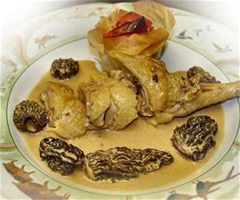 cuisine franc comtoise interfrance recette de la poularde aux morilles cuisine franc comtoise cuisine régionale