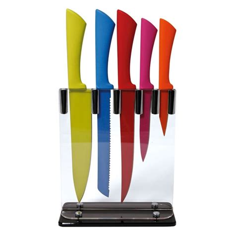coloured kitchen knives 194 best images about knife blocks on steak