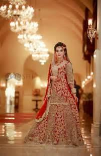 pin  asma  bridal dress styles pakistani wedding