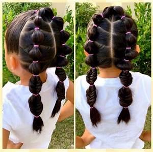 peinados para niñas pelo corto con ligas Peinados Lindos Y Faciles