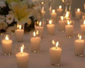 verrine bougie bougie dcorative bougie blanche With couleur pour un salon 17 gypsophile fleurs blancheslivraison gypsophile mariage