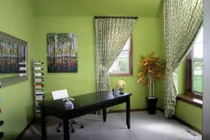 Green Home Office Paint Colors