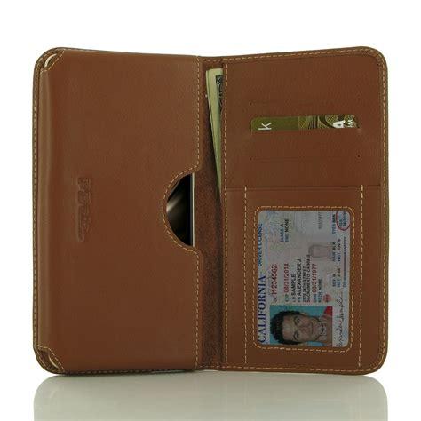 asus zenfone 3 deluxe wallet sleeve brown pdair pouch