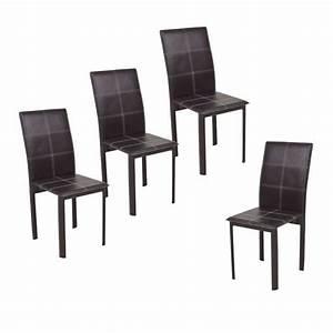 chaise salle a manger en cuir le monde de lea With meuble salle À manger avec chaise salle a manger simili cuir