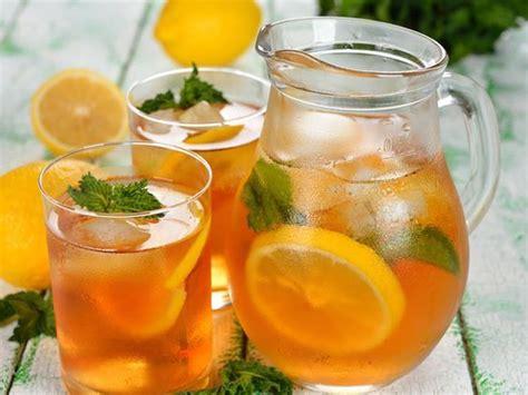 alkoholfreie cocktails selber machen eistee selber machen dessert getraenke marmeladen