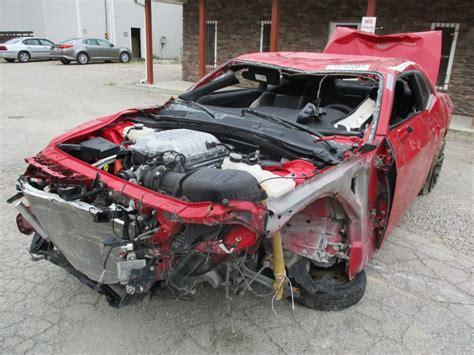 srt hellcat wreck  challenger manual