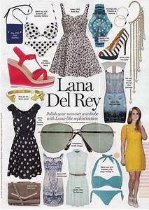 Lana Del Rey style inspiration #LDR #fashion | Aesthetic ...