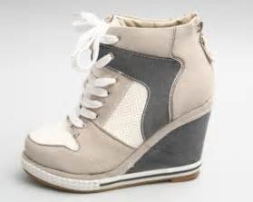 High Top Wedge Sneakers Women Shoes