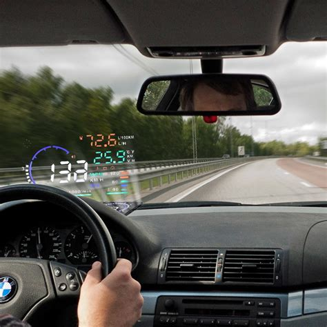 car hud head  display advanced windshield led