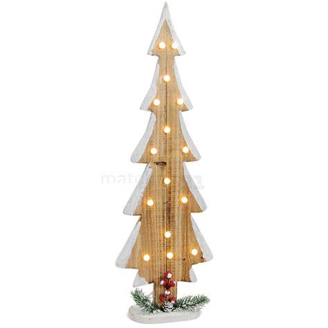 Weihnachtsdeko Fenster Mit Beleuchtung by Tannenbaum Aus Holz 15 Leds Lichter Weihnachtsdeko Mit