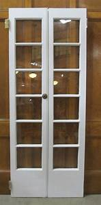 narrow french door would make a nice replacement for the With 32 inch double doors