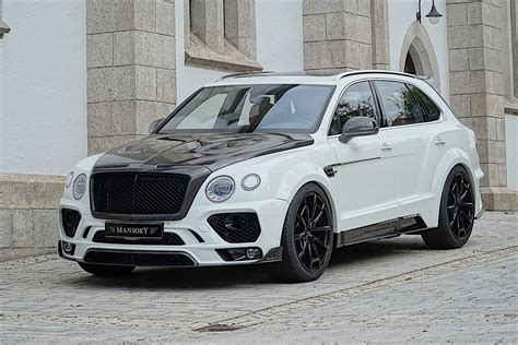 bentley suv mansory has a new package for the bentley bentayga it