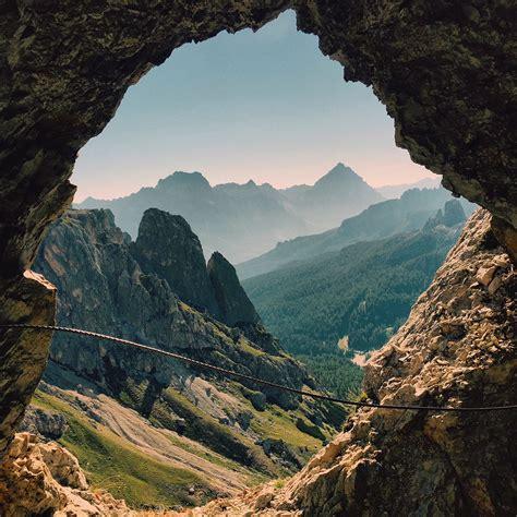 Hiking Italys Lagazuoi Tunnels — Trail Stoke