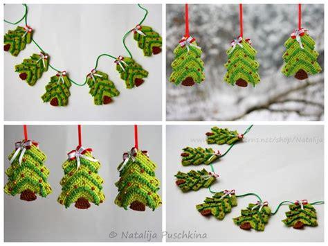 weihnachtsbaum girlande anh 228 nger diy h 228 keln