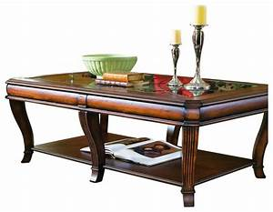 brookhaven rectangular cocktail table clear cherry With rectangular cherry coffee table