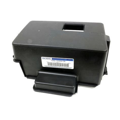 batterie ford 2000 2007 ford focus 2 0l engine black battery cover tray box oem ys4z 10a659 db ebay