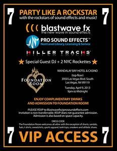 PSE is Gearing up for NAB 2013 Party and Booth - Pro Sound ...