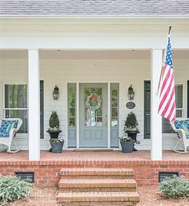 Farmhouse, Front, Entry, And, Easy, Planters