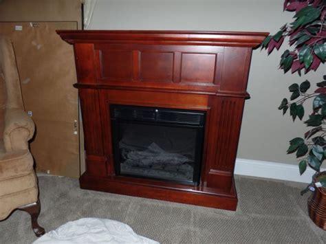 cherry wood electric fireplace doylestown pa patch