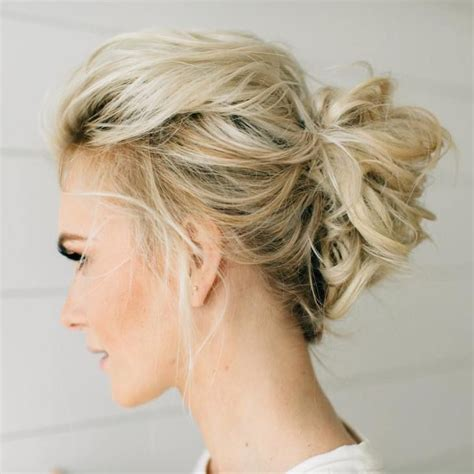Medium Updos Hairstyles by 70 Medium Length Hairstyles For Thin Hair In 2019