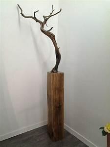 35 best images about mobilier decoration bois brut on for Deco bois brut